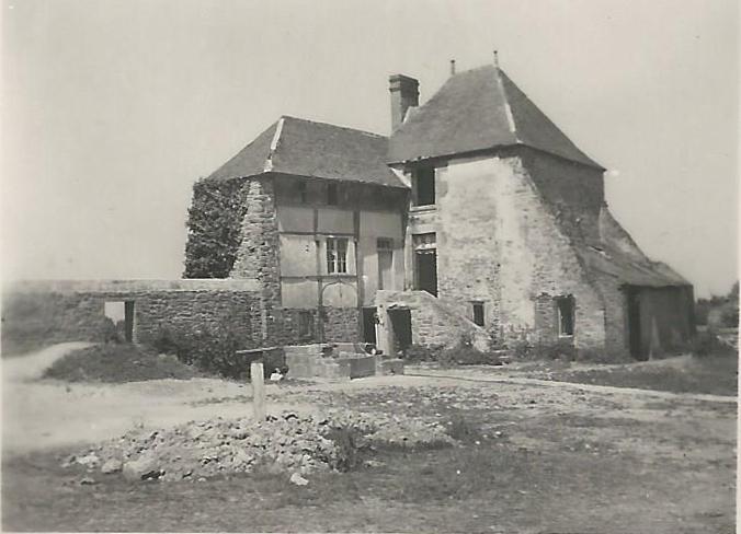 Manoir de la petite bardoulais vers 1950
