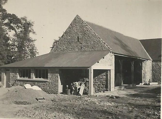 Travaux ferme de la bardoulais 1954 a 1956 1