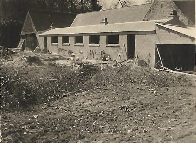 Travaux ferme de la bardoulais de 1954 a 1956 4