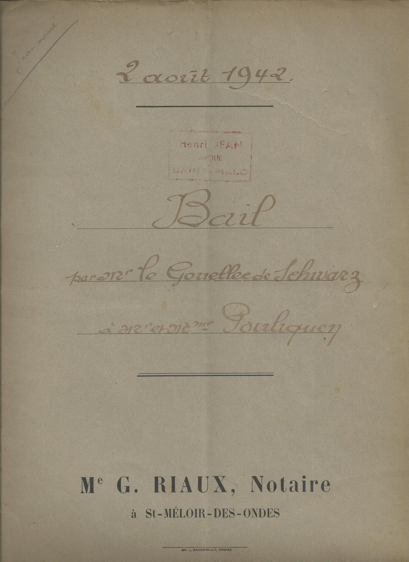 Bail de 1942
