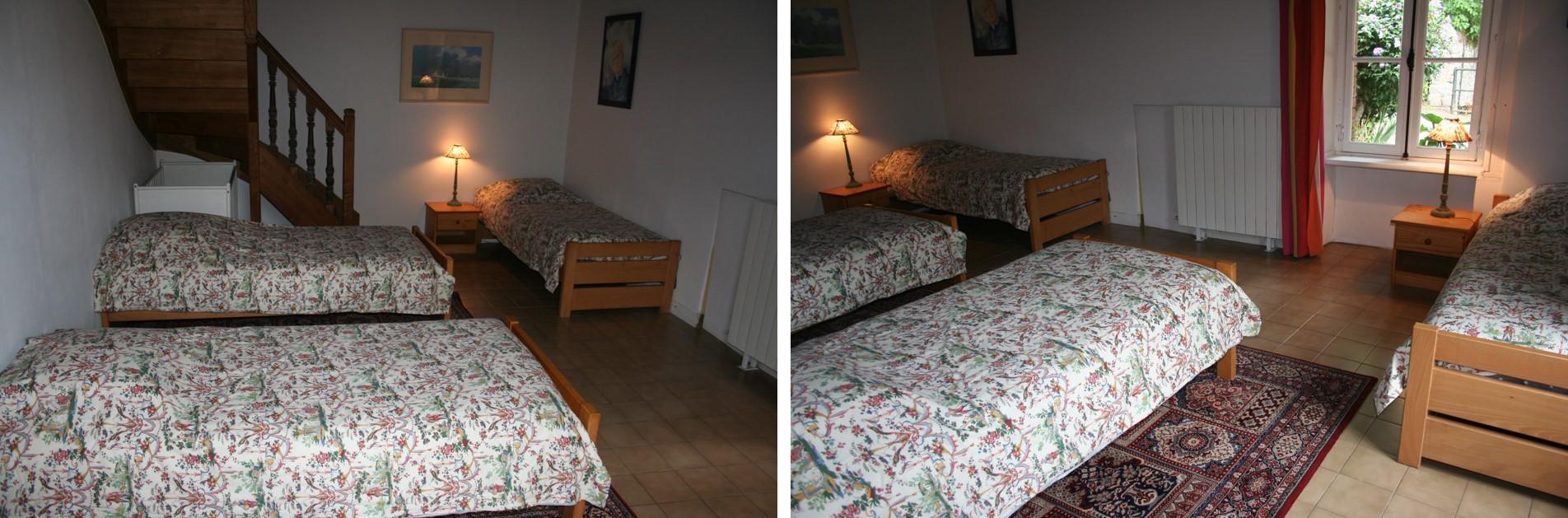 Banniere ferme chambre 4 lits
