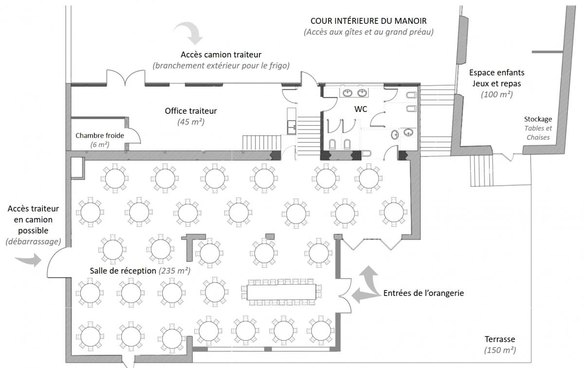 Plan espace reception definitif
