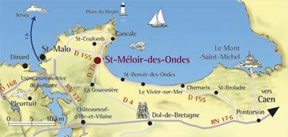 St meloir region plan